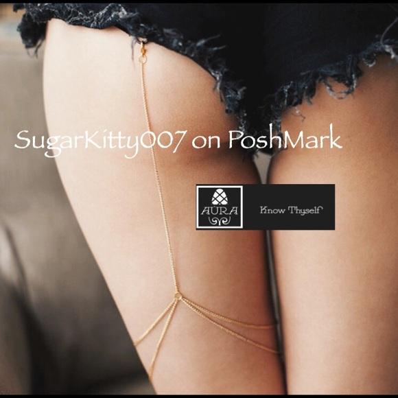 c0dc9a33be7d Aura Jewelry | Sexy Golden Empress Thigh Chain Leg Harness | Poshmark